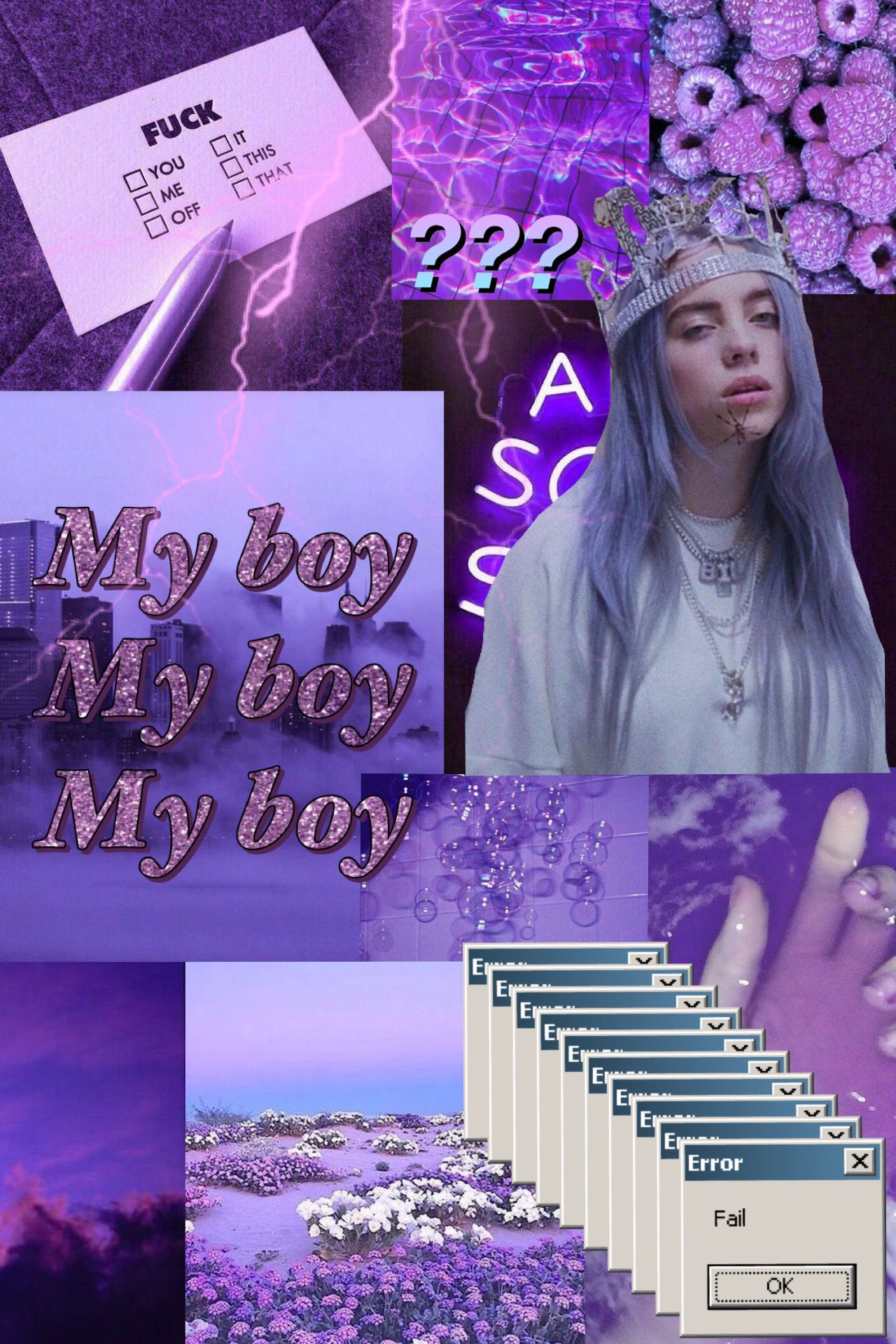 Billie Purple Aesthetic Wallpaper Aesthetic Wallpapers Purple