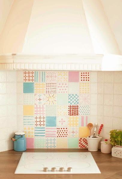 Trucos small low cost para cambiar la cocina azulejos - Cambiar azulejos cocina ...