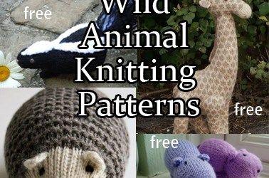 Wild Animal Knitting Patterns