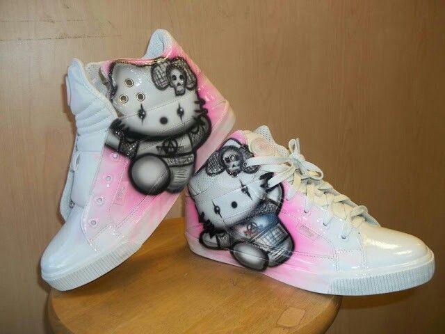 370102760e89 Airbrush Shoes