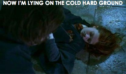 Now I M Lying On The Cold Hard Ground Ginny Weasley Taylor Swift Ginny Weasley Weasley Harry Potter