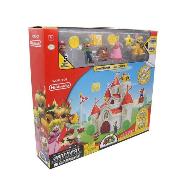 World Of Nintendo Super Mario Deluxe Mushroom Kingdom Castle
