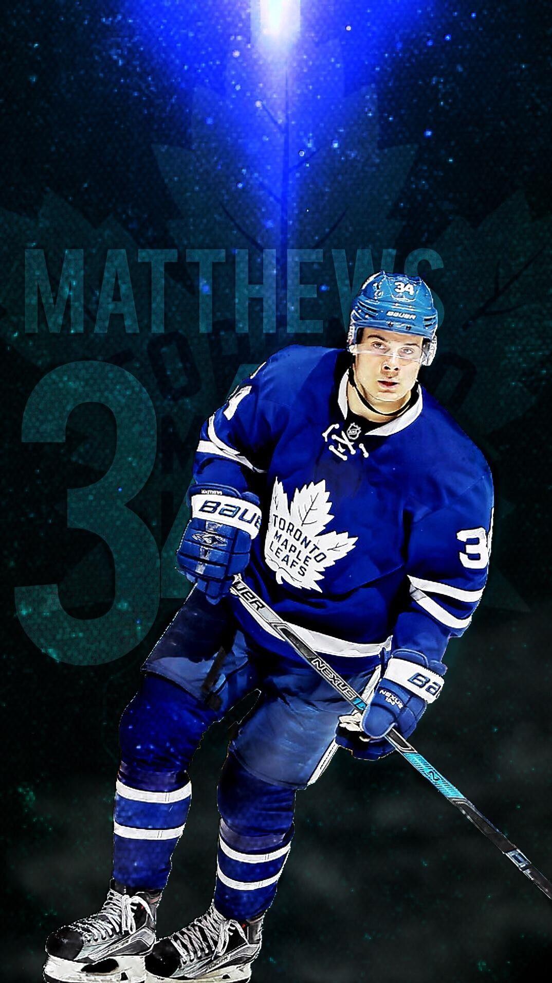 A Matthews Toronto Maple Leafs Hockey Maple Leafs Hockey Toronto Maple Leafs Wallpaper