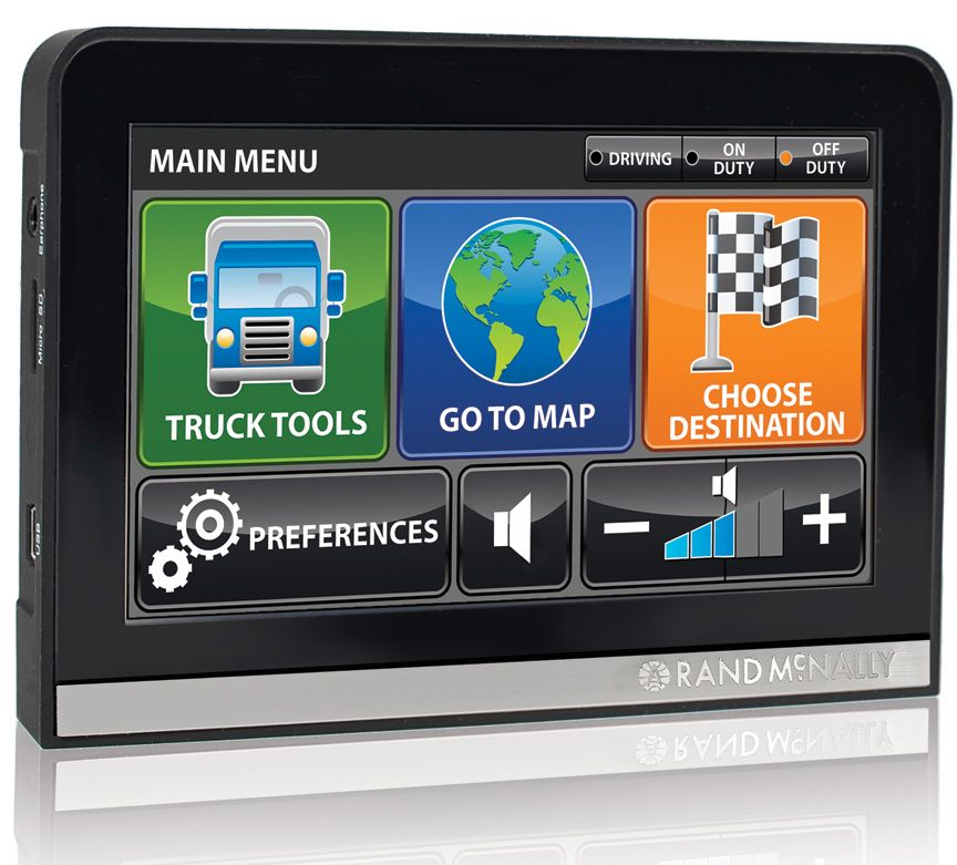 Rand Mcnally Gps >> Rand Mcnally Intelliroute Tnd 510 Truck Gps Gps Tracking