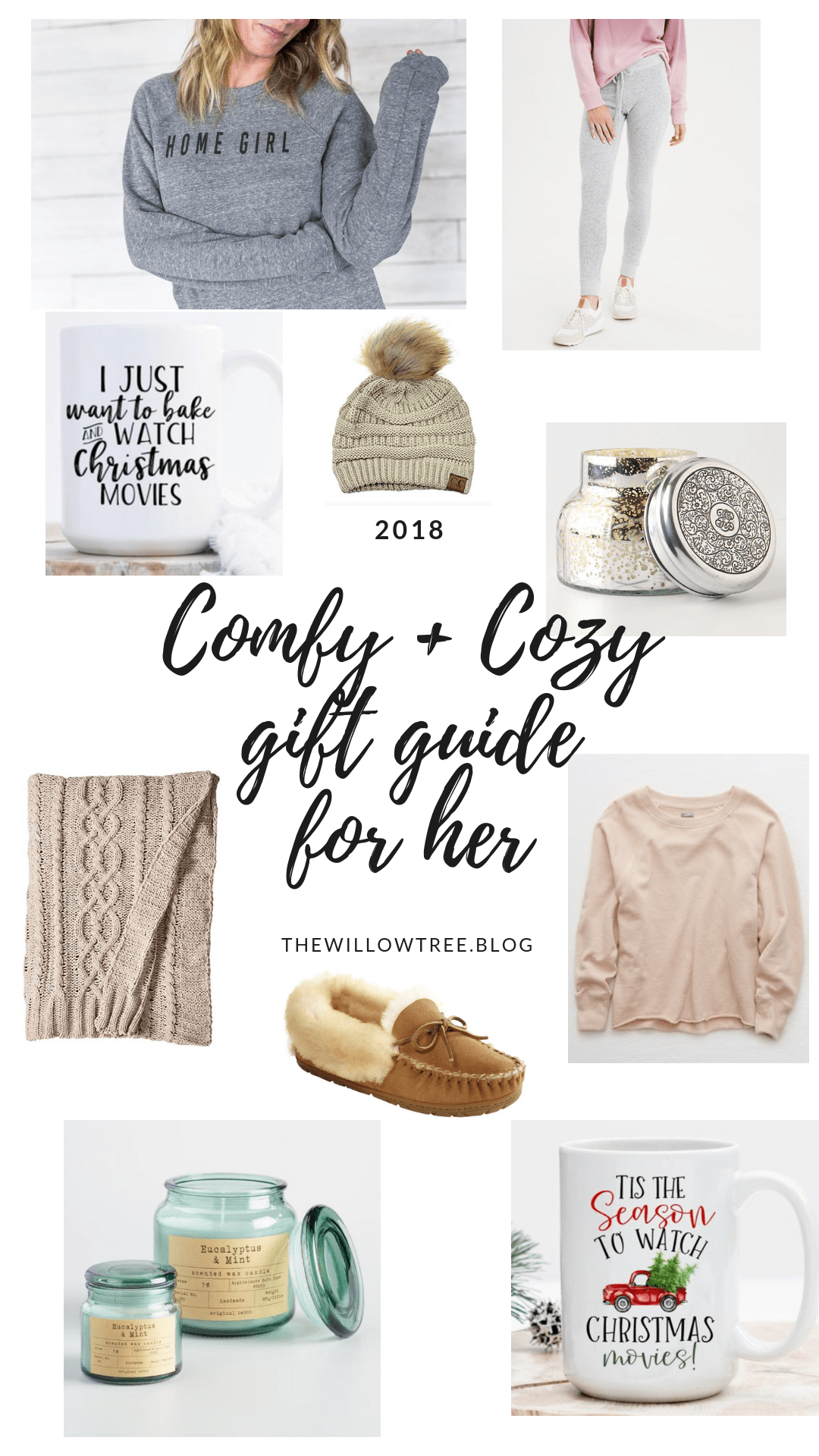 Christmas Gifts 2018 For Her.The Comfy Cozy Gift Guide For Her 2018 The Willow Tree