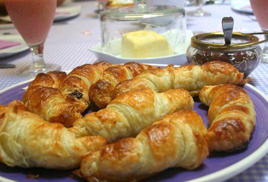 LA COCINA DE MARIANNE: mini croasanes de chocolate (croissants au ...