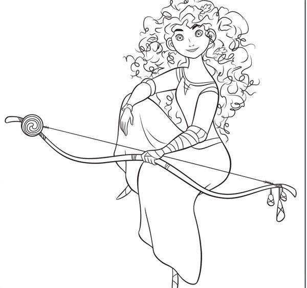 Dibujos para colorear de las princesas Disney