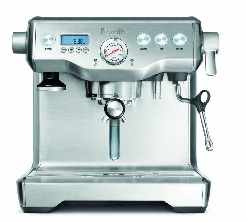 Breville - Semi Automatic Espresso Machine Dual stainless steel boilers & dual italian pumps.