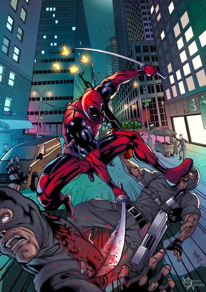 #Deadpool #Fan #Art. (Deadpool Practice Colored) By:Marvinmarvida. (THE * 5 * STÅR * ÅWARD * OF: * AW YEAH, IT'S MAJOR ÅWESOMENESS!!!™)[THANK U 4 PINNING!!!<·><]<©>ÅÅÅ+(OB4E)