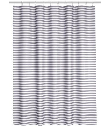 H M Striped Shower Curtain 19 95 This Is Available In Black And