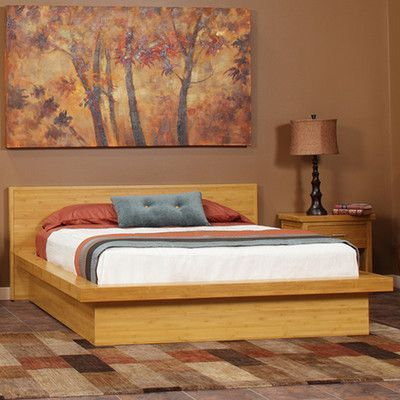 Epoch Design Nara Platform Customizable Bedroom Set