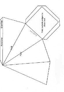 Inked Impressions Pyramid Box Pattern Box Patterns Pyramid Box Pattern