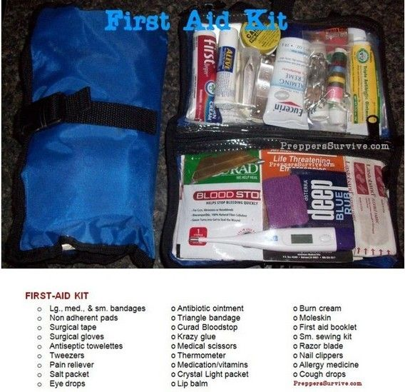Bug Out Bag First Aid Kit Camping First Aid Kit Backpacking First Aid Kit Diy First Aid Kit