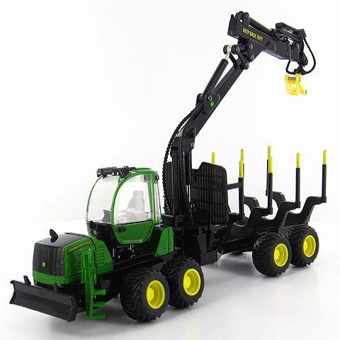ERTL 15928 - 1/50 scale - Logging by ERTL. $53.99. John Deere 1110E Forestry Forwarder This is a diecast metal replica with plastic parts. It features free-rollin wheels and a working arm with lots of detail.