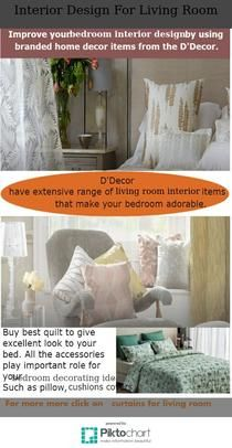 Improve your bedroom interior design by using branded home decor items from the   have extensive range of living room that also homedecoritems online decorproduct on pinterest rh