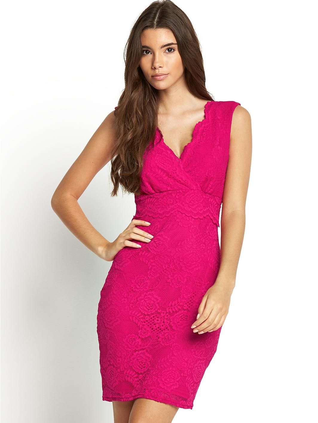Lace Overlay Bodycon Dress, http://www.very.co.uk/lipsy-lace ...