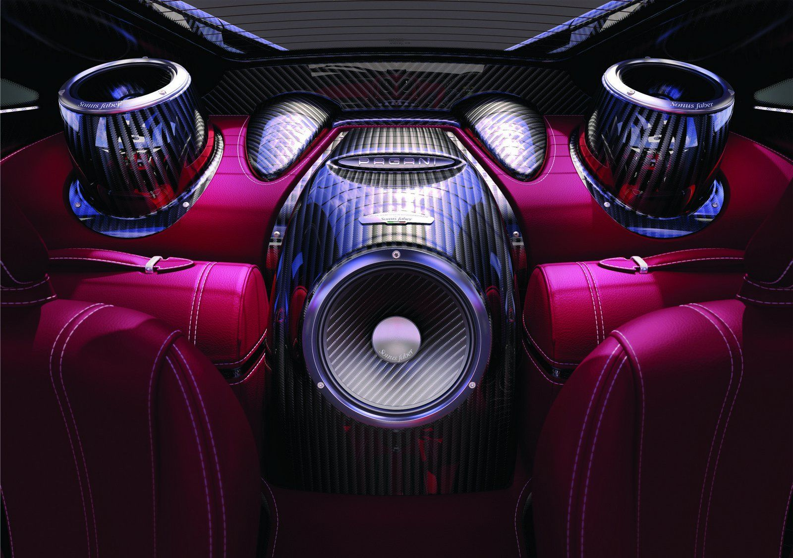 Official Sonus Faber 1200 Watts Sound System For Pagani Huayra Car Audio Systems Car Audio Custom Car Audio