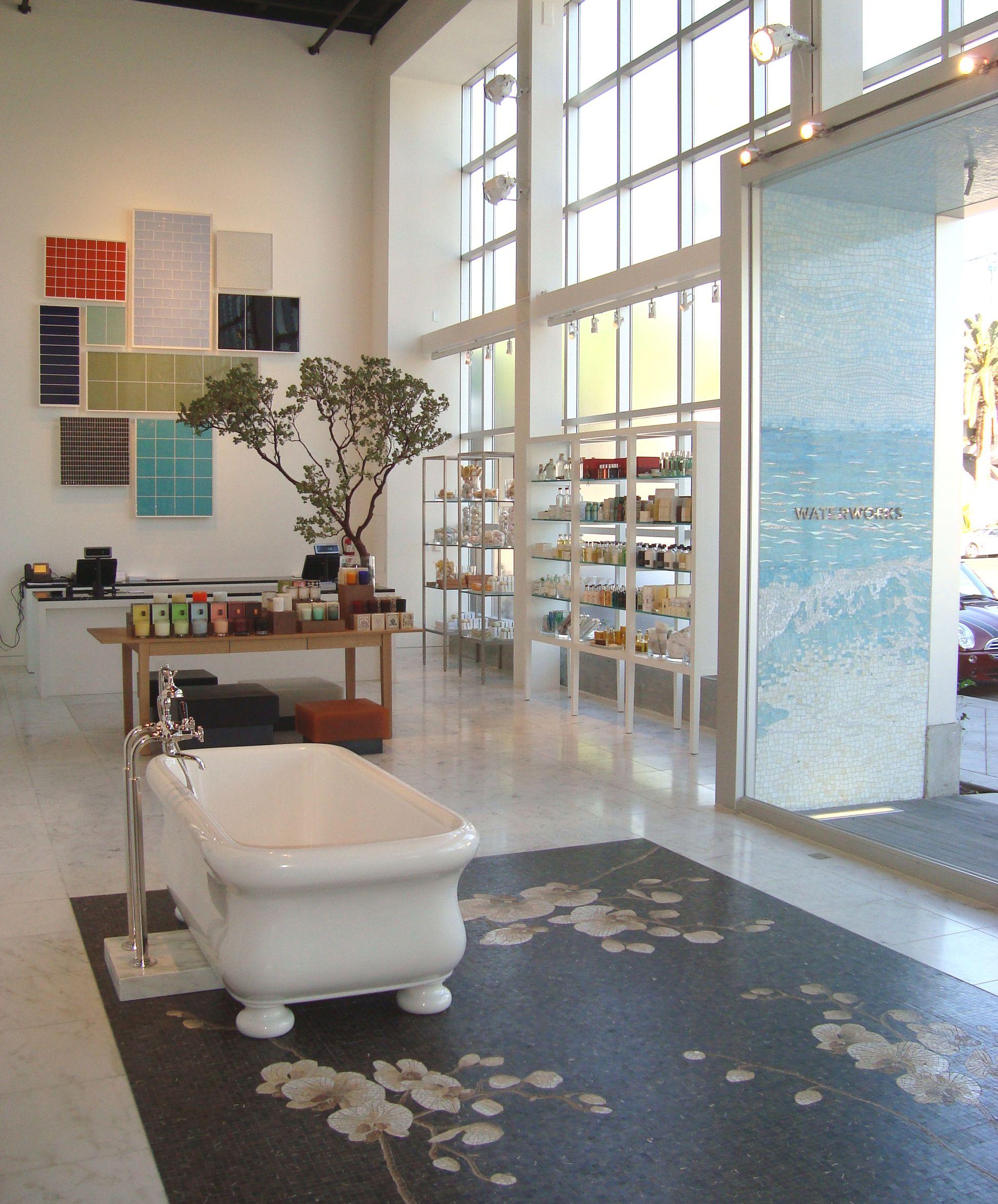 Bathroom Showroom Design Ideas: Waterworks Los Angeles Showroom Display