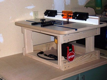Semi Portable Router Table Router Table Router Table Plans Benchtop Router Table