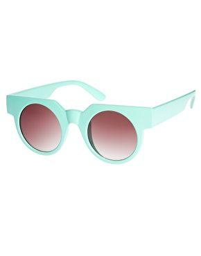 ASOS Flat Top Round Sunglasses  $27.27