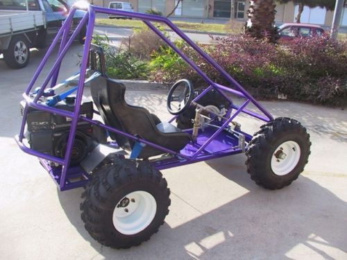 Trax ii offroad mini dune buggy sandrail go kart plans for Yamaha 400cc dune buggy