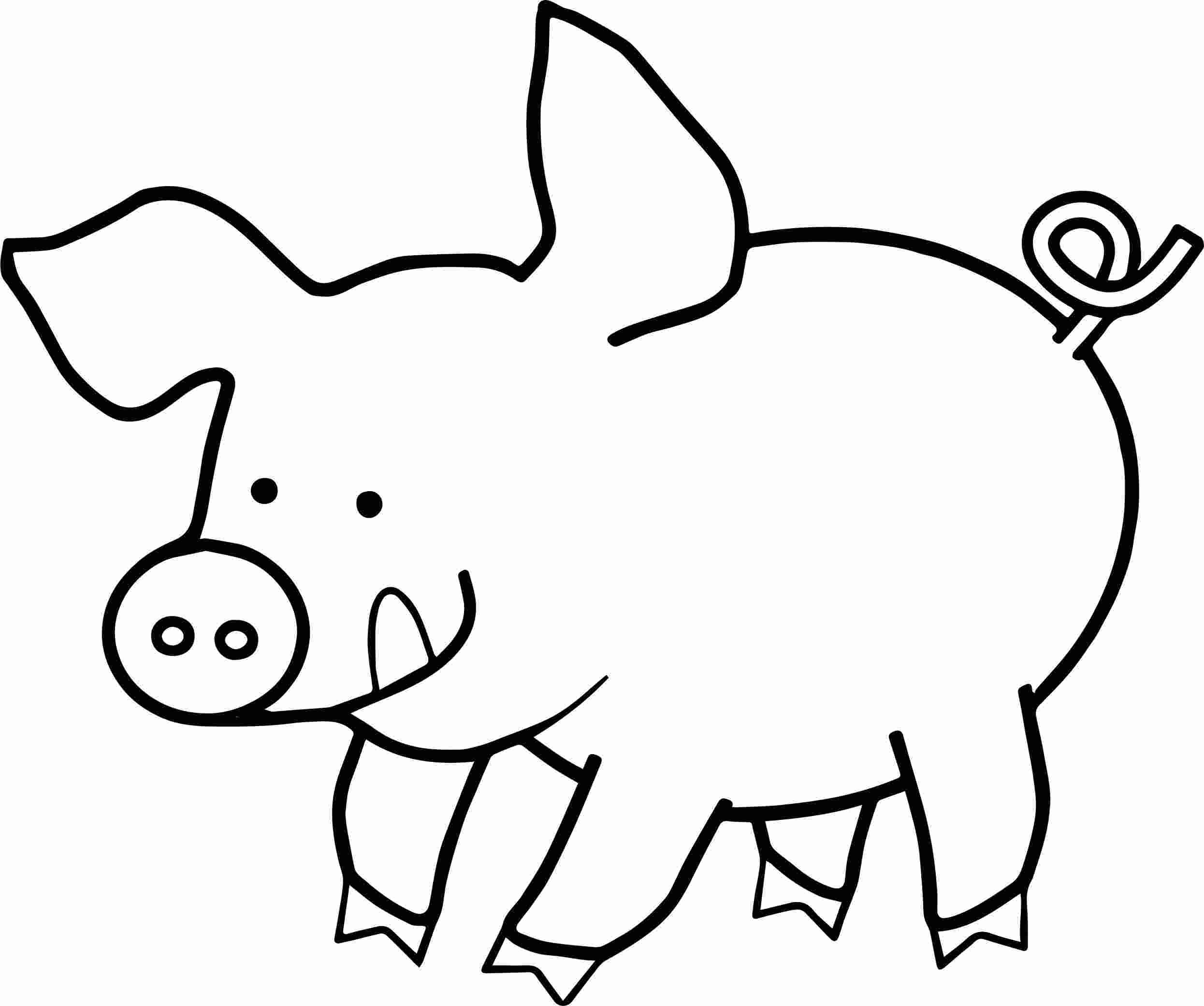 Coloring Book Hog Coloring Pages