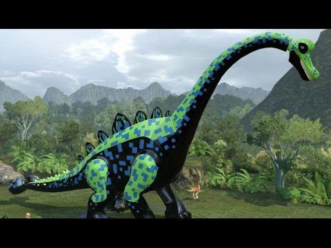 How To Get Dinosaur Skeletons In Lego Jurassic World