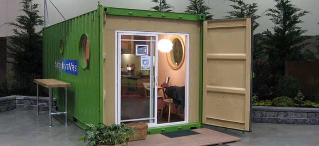 Cargo Shipping Container Homes from cargo container to new home, shipping containers are