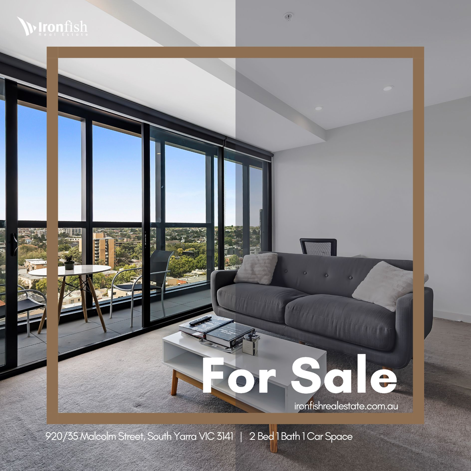 FOR SALE 920/35 Malcolm Street, South Yarra VIC 3141 (2