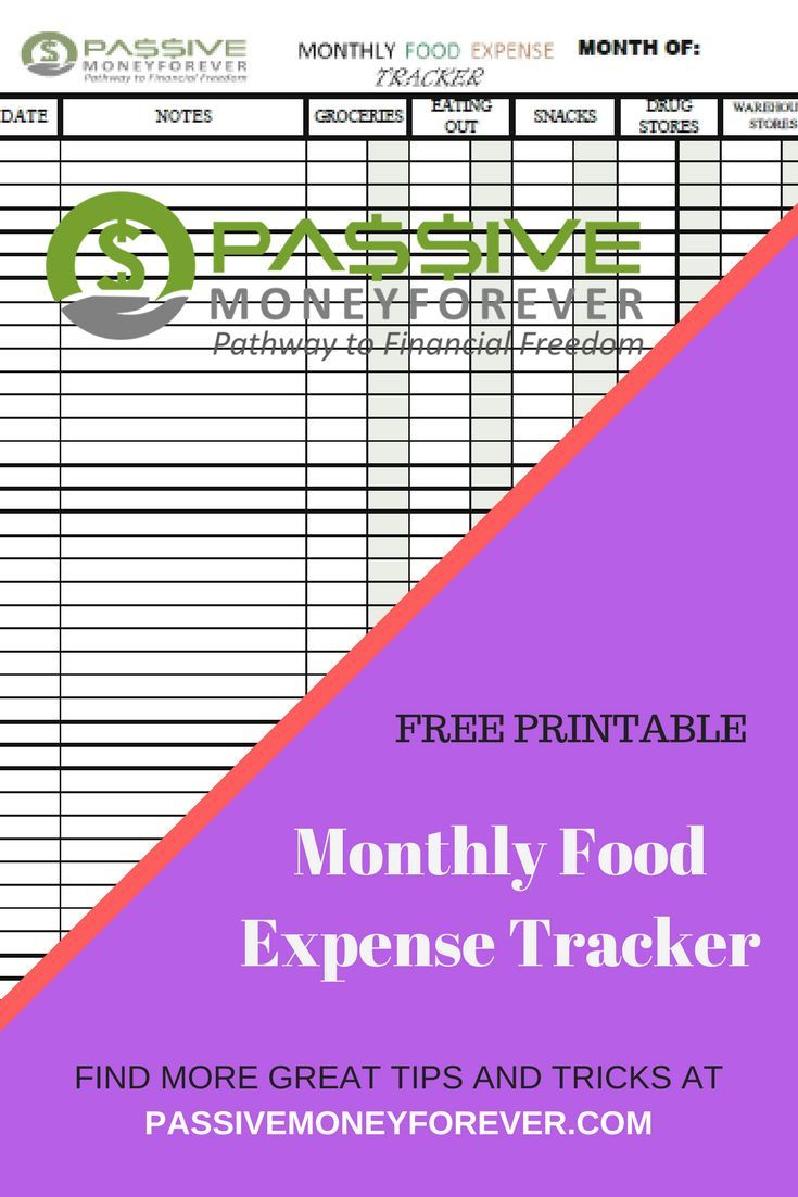food budgeting tracker free printable blogging and making money