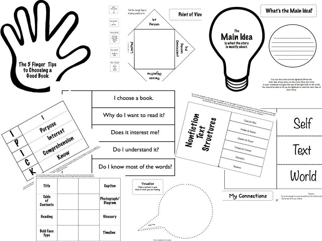 Interactive Reader's Response Notebook Grades 3-5