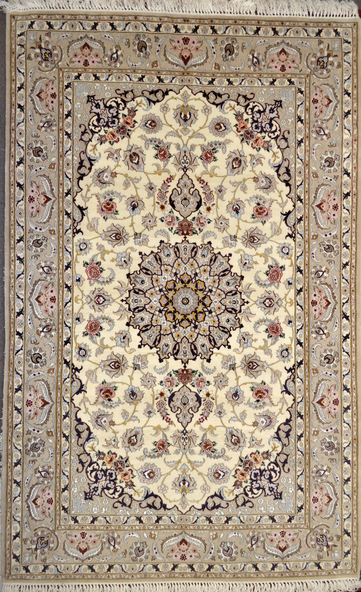 Isfahan Silk Persian Rug 5x7 See More Ideas About