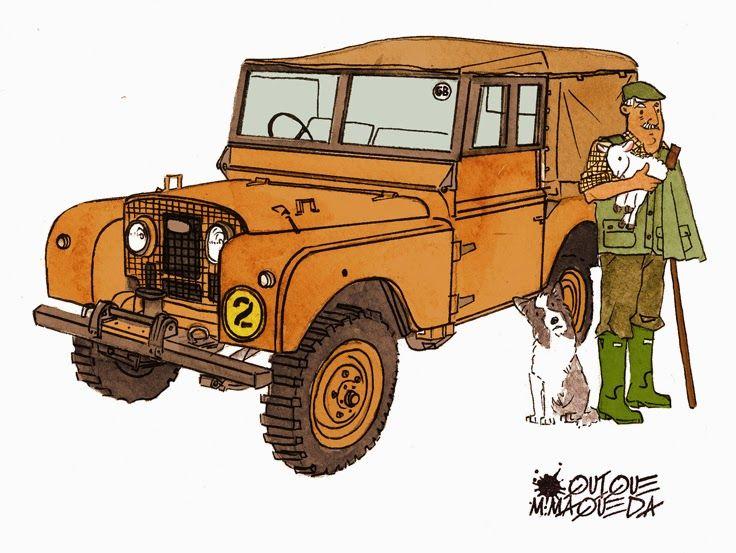 Land Rover 1948 Serie I Quique Maqueda Land Rover S