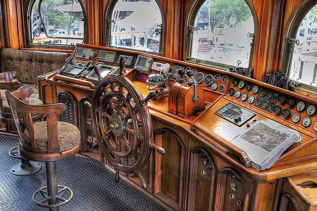 The Bridge Of The Sailing Ship The Peacemaker Your Pinterest