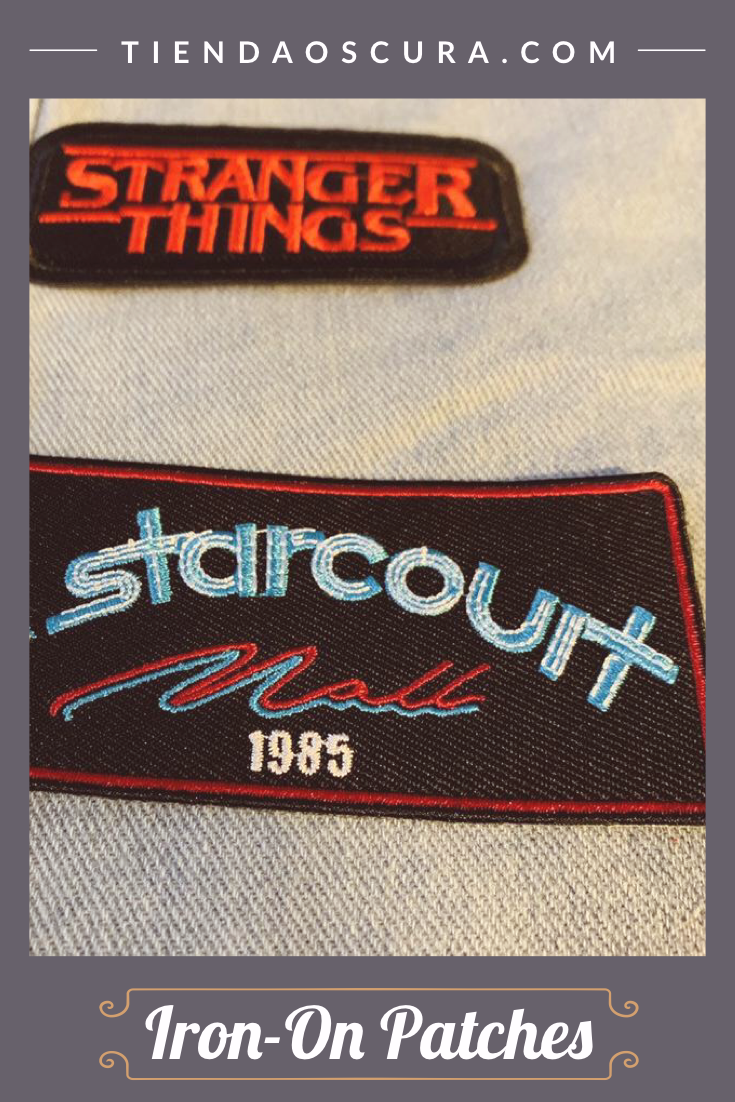 Starcourt Mall Iron On Patch Iron On Patches Patches Etsy