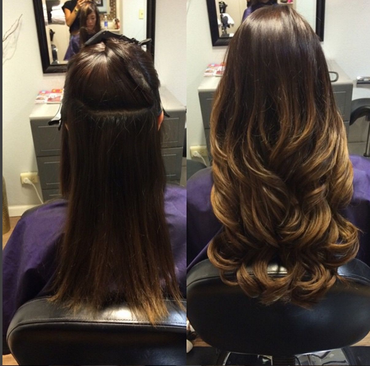 Did you get your Glam Seamless Extensions for this weekend ...