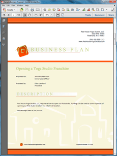 Title company business plan
