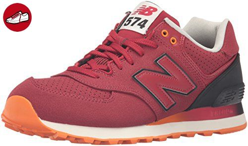 new balance orange red black herren