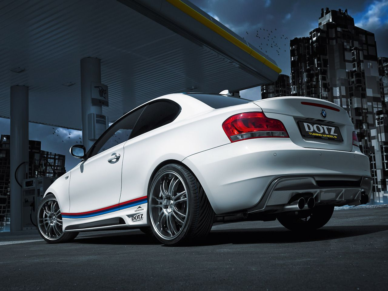BMW I Coupe Gets Some Extras From Rieger Tuning - Bmw 135i tune
