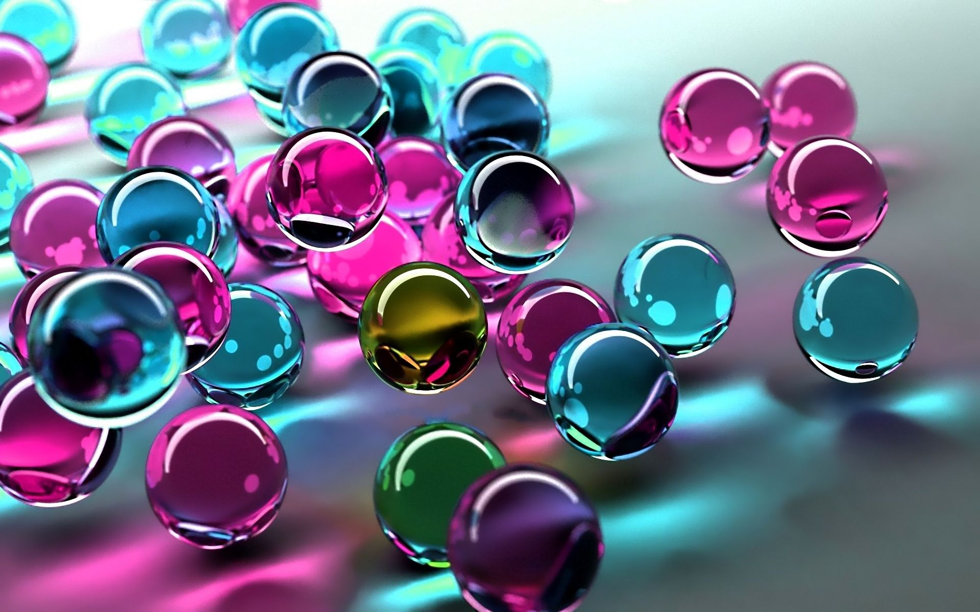 3d Balls Wallpapers With Images Bubbles Wallpaper Glass