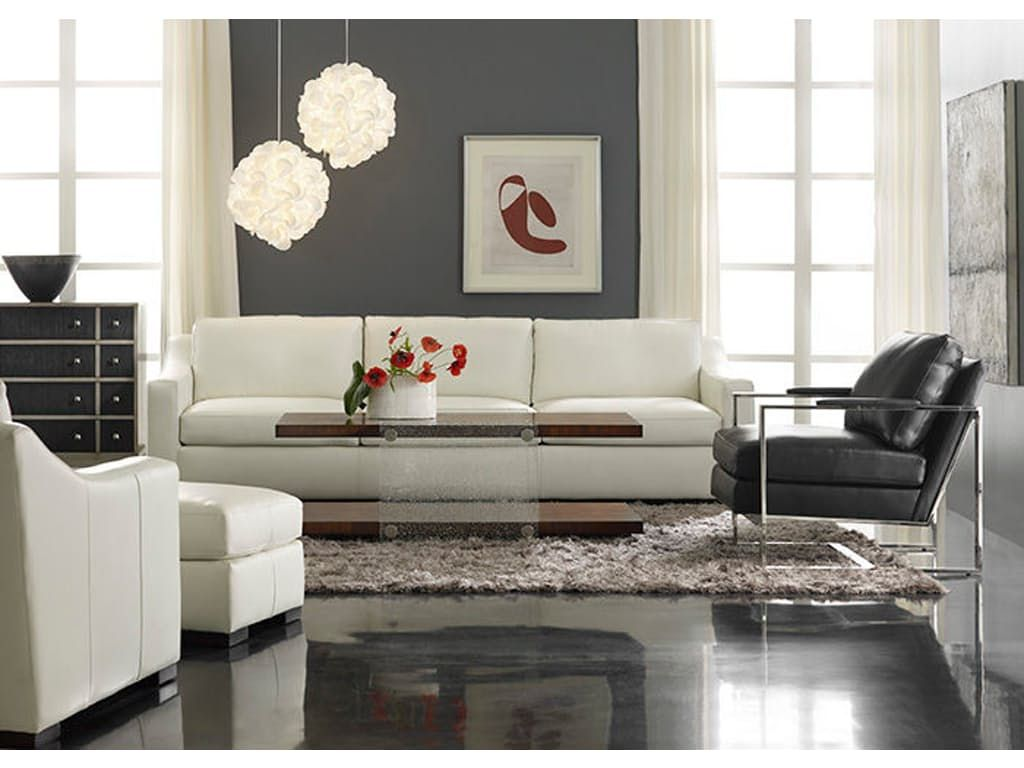the aldana sofa is sleek and stylish create a