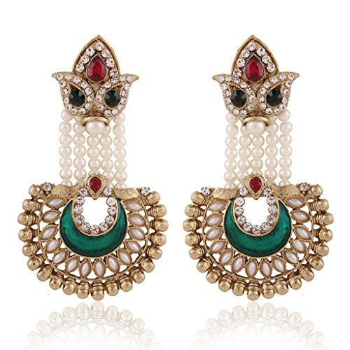 EleQueen 925 Sterling Silver Full Cubic Zirconia Emeraldcut Bridal Halo Stud Earrings -- Check out the image by visiting the link.