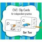 This set contains 40 CVC clip cards for independent practice with medial sounds i, o, and u.    A great addition to your literacy centers, or for u...