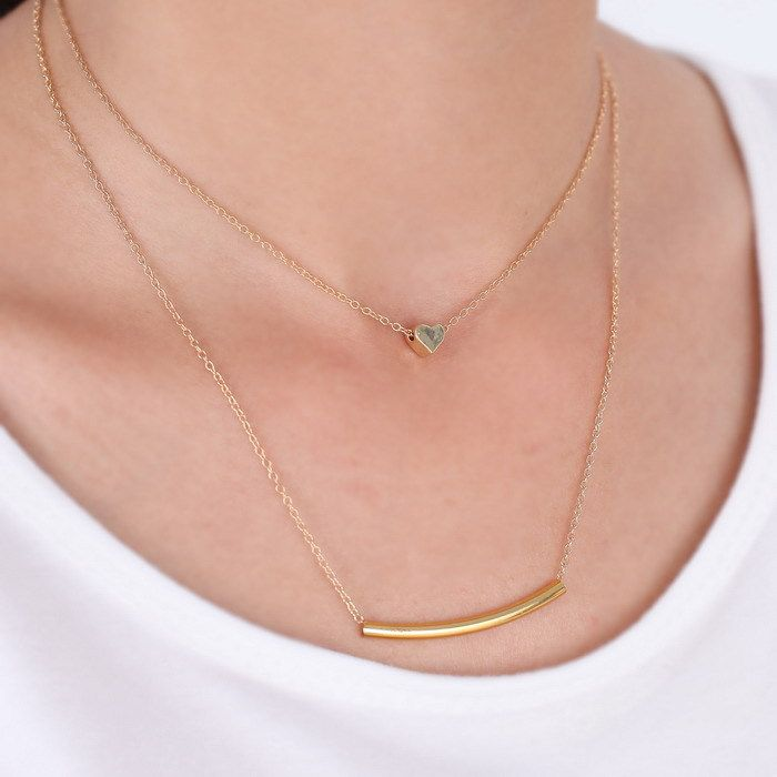 three chain pendant necklace - Google Search | jewelery ...