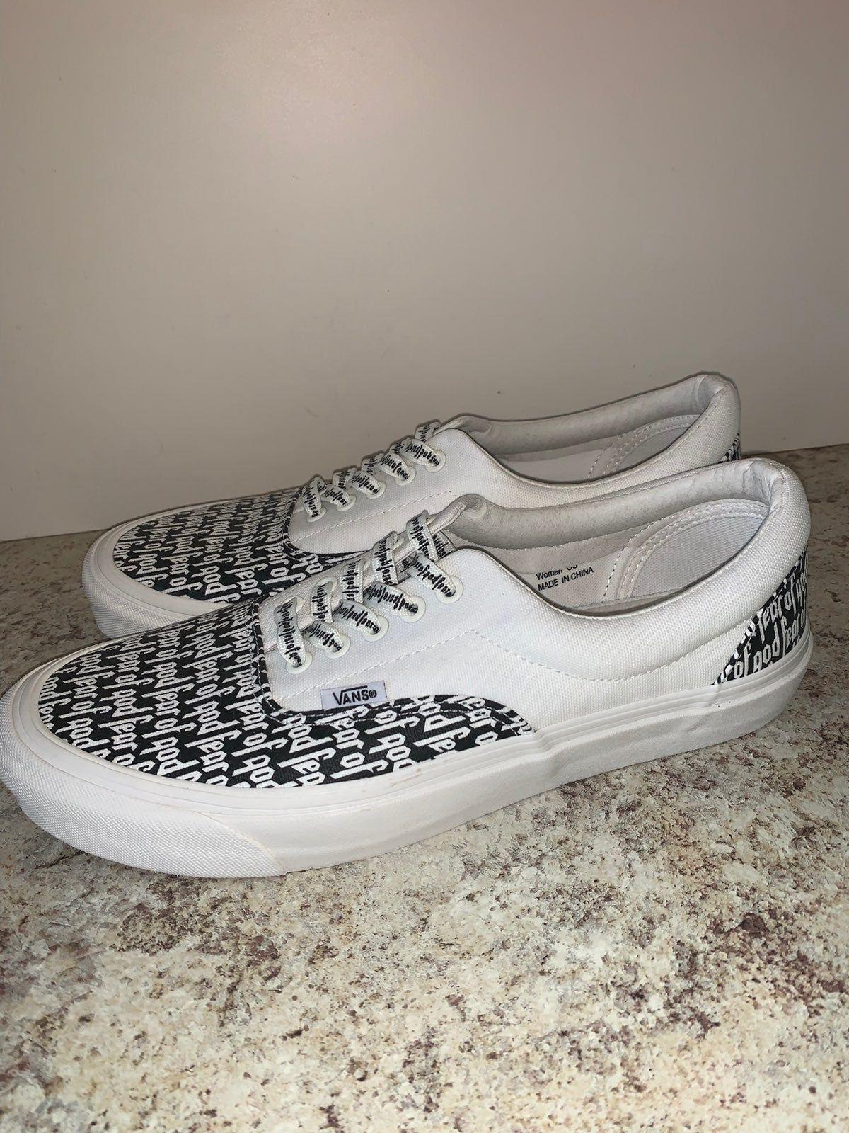 Deadstock Fear Of God Vans New With Box Size 11 Vans Shoes Mens Vans Authentic Sneaker