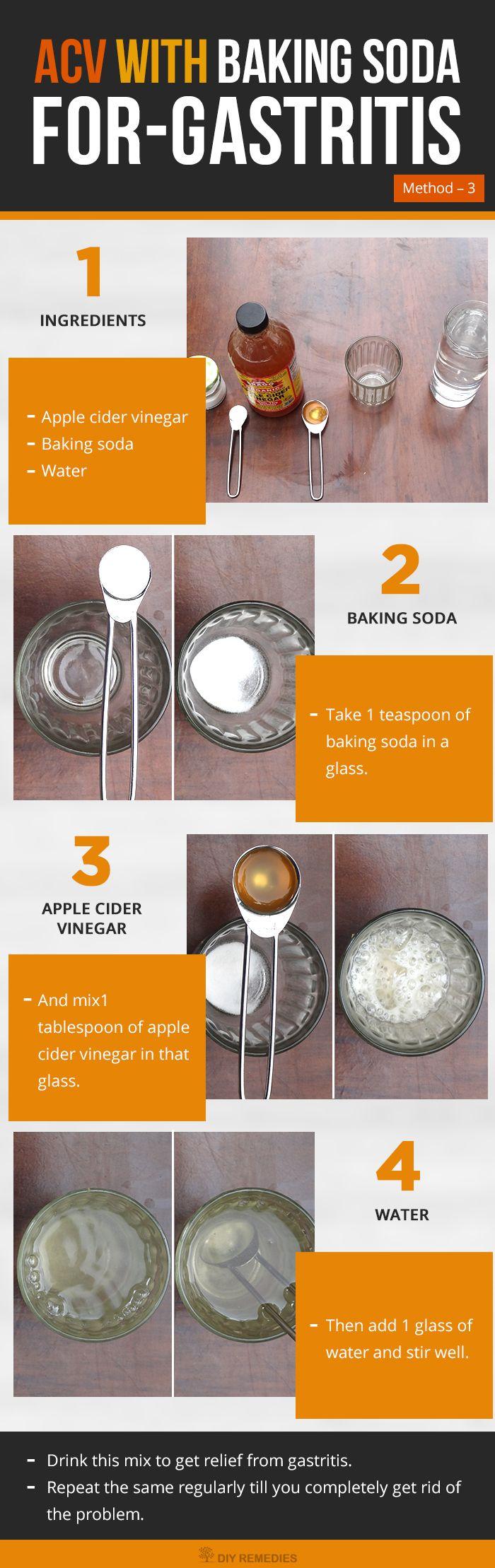 How to use Apple Cider Vinegar for Gastritis