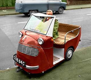 Image result for Colliday Chariot microcar