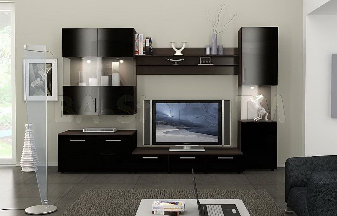 Modern Wall Unit figaro modern wall unit composition-2 - ace decore | entertainment