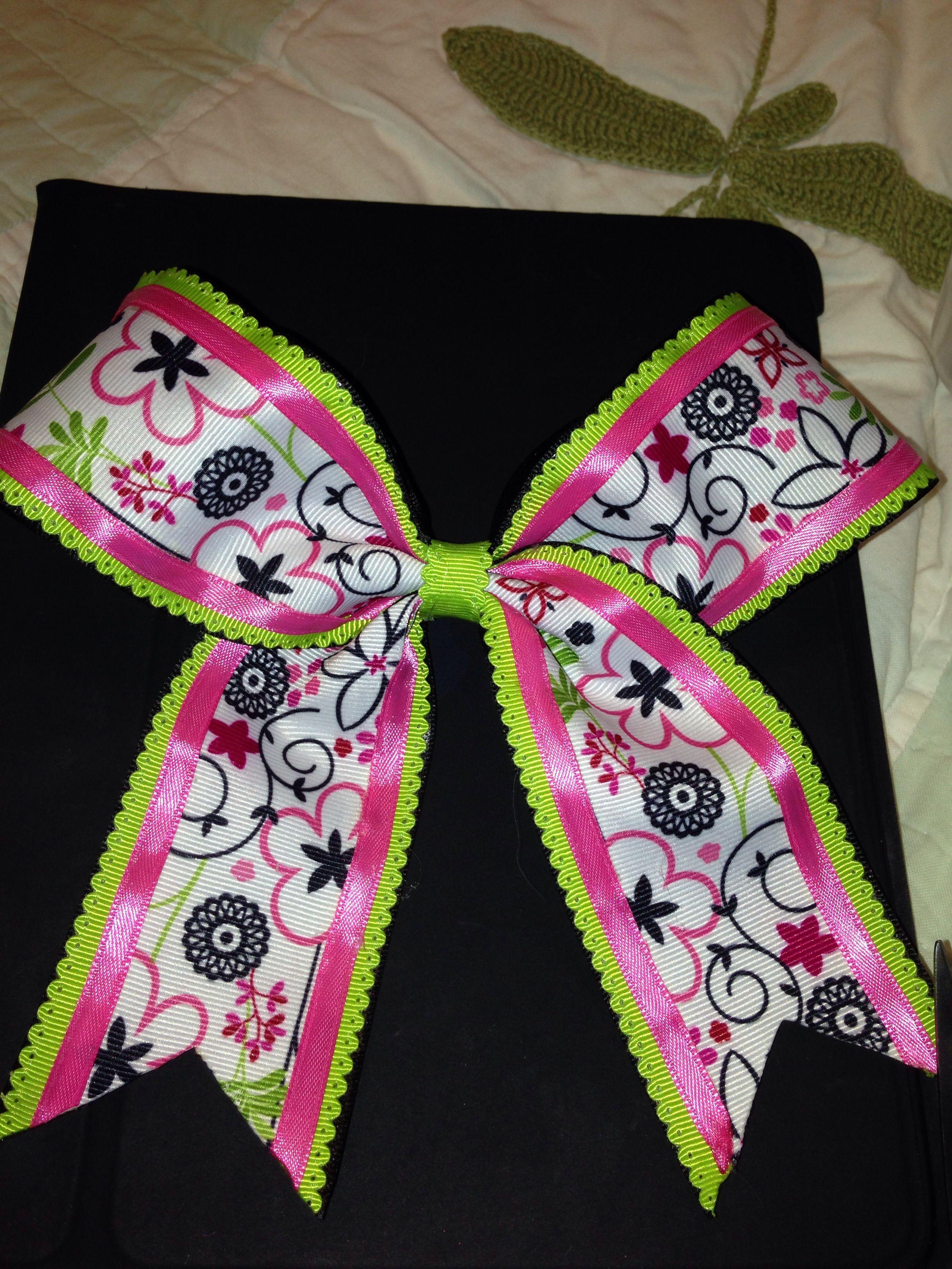 Cute cheer bow hair bow ideas cute cheer bows cheer bows bows - Cute cheer bows ...