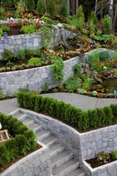 Top 60 Best Retaining Wall Ideas - Landscaping Des